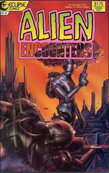 Alien Encounters (1985) 9-A by Eclipse