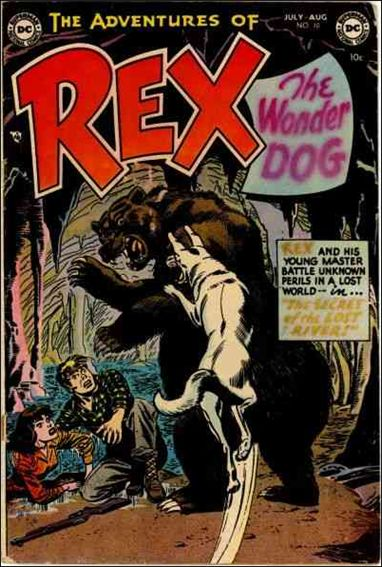 Adventures of Rex the Wonder Dog 10-A by DC
