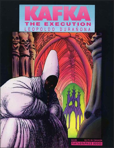 Kafka: The Execution 1-A by Fantagraphics