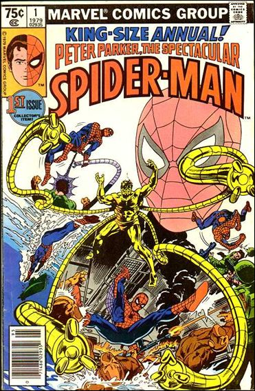 Spectacular Spider-Man Annual 1-A by Marvel