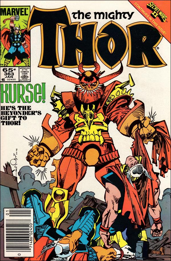 Thor (1966) 363-A by Marvel