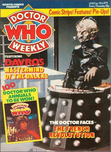 Doctor Who Weekly 10-A by Marvel UK