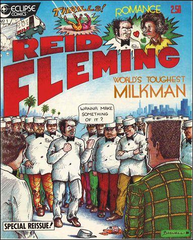 Reid Fleming, World's Toughest Milkman 1-C by Eclipse