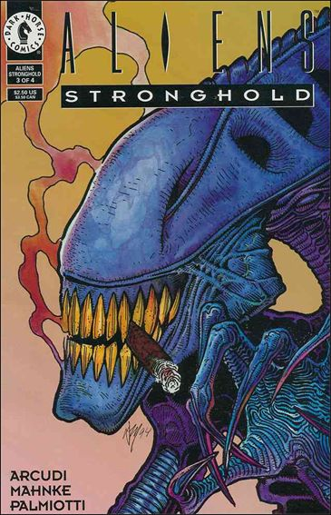 Aliens: Stronghold 3-A by Dark Horse