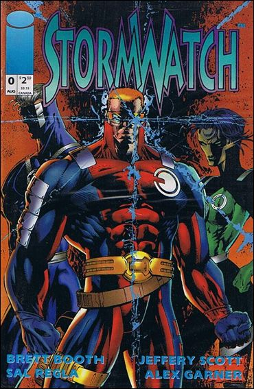 StormWatch (1993) 0-A by Image