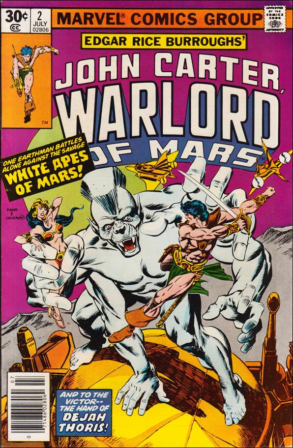 John Carter, Warlord of Mars 2-A by Marvel