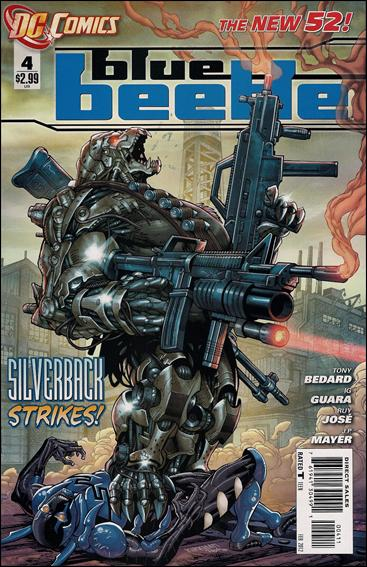 Blue Beetle (2011) 4-A by DC