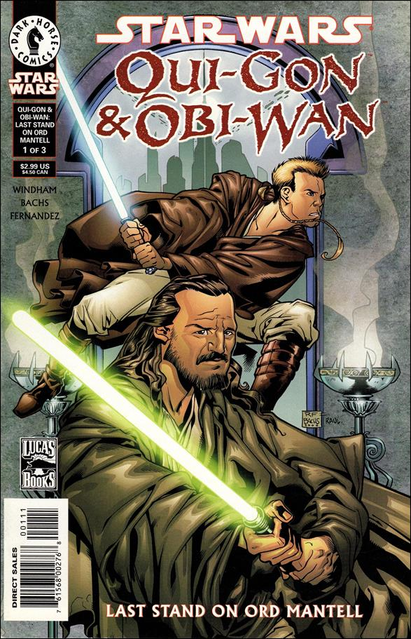 Star Wars: Qui-Gon & Obi-Wan - Last Stand on Ord Mantell 1-A by Dark Horse