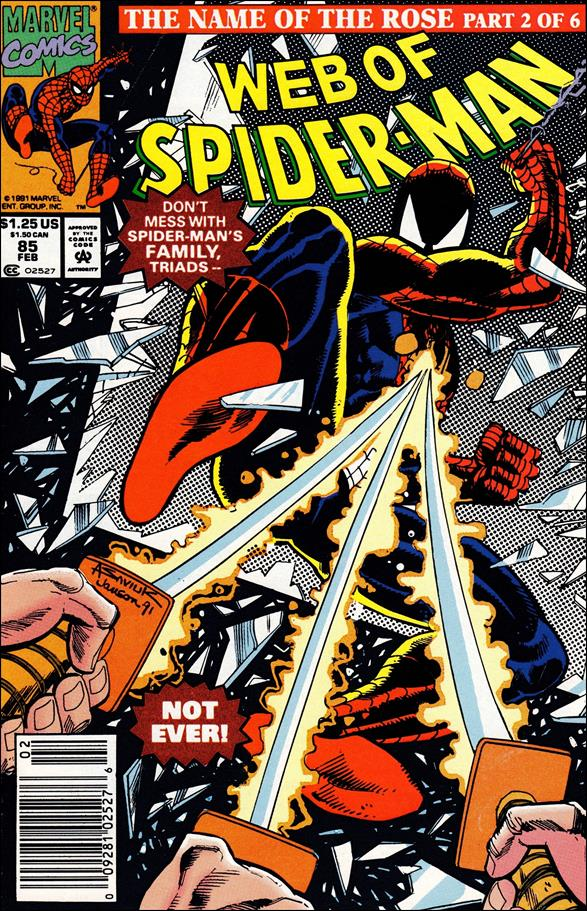 Web of Spider-Man (1985) 85-A by Marvel