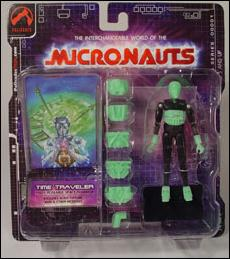 Micronauts (Series 1) Time Traveler (Green) by Palisades Toys