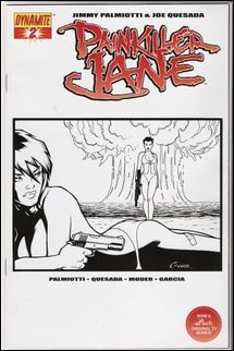 Painkiller Jane (2007) 2-C by Dynamite Entertainment