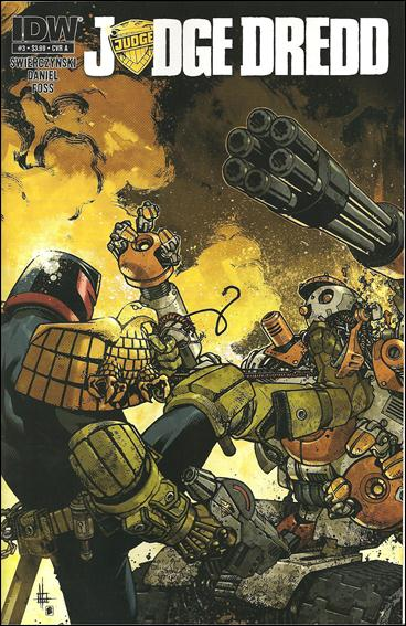 Judge Dredd (2012) 3-A by IDW