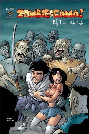 Zombie-Sama 1-A by Big City Comics