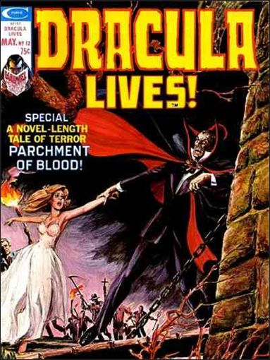 Dracula Lives 12-A by Marvel
