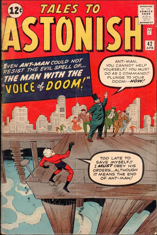 Tales to Astonish (1959) 42-A by Marvel