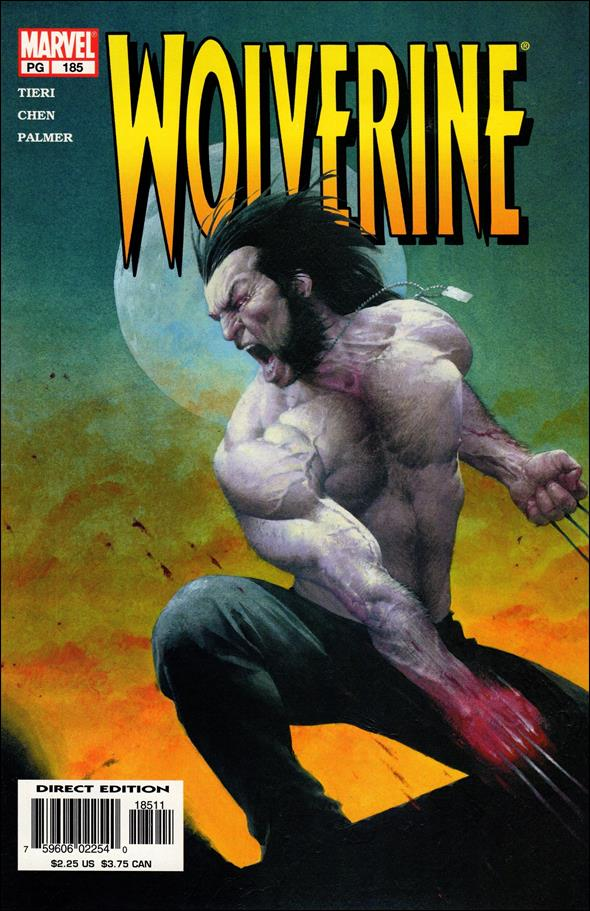 Wolverine (1988)  185-A by Marvel