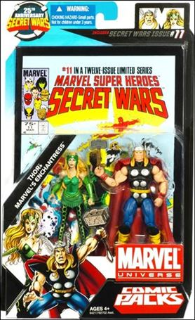 Marvel Universe: Secret Wars (Comic-Packs) Thor and Enchantress