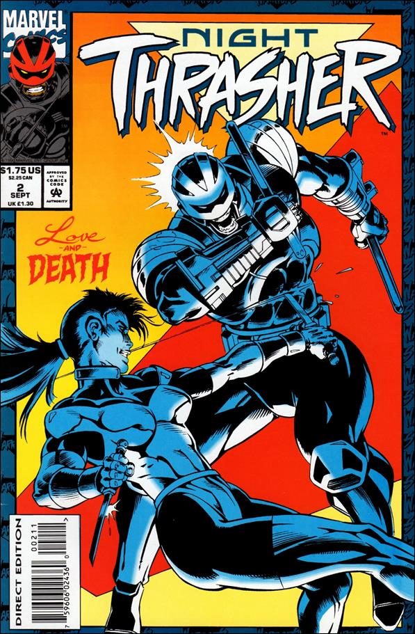 Night Thrasher 2-A by Marvel