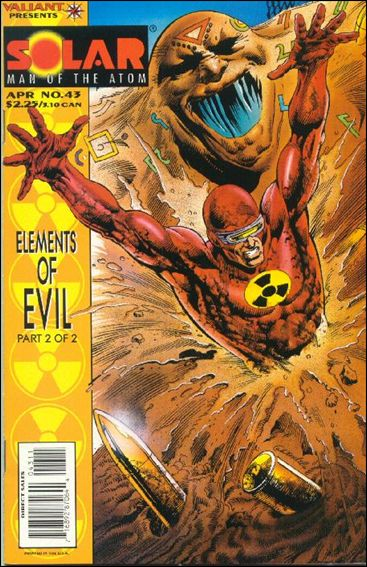 Solar, Man of the Atom (1991) 43-A by Valiant