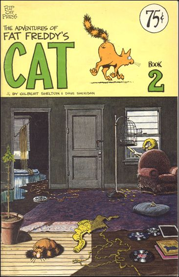 Adventures of Fat Freddy's Cat 2-B by Rip Off Press