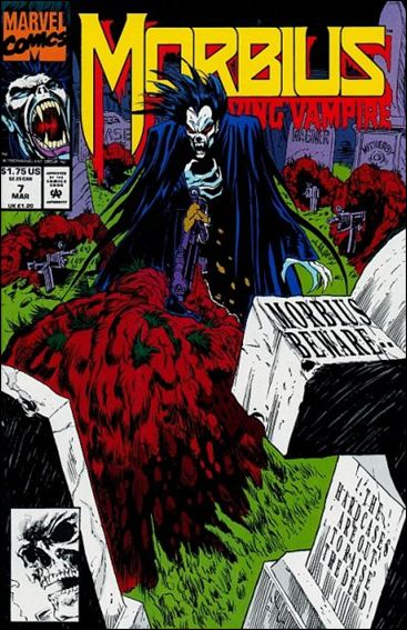 Morbius: The Living Vampire (1992) 7-A by Marvel