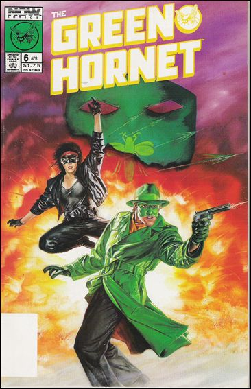 Green Hornet (1989) 6-A by Now Comics