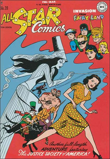 All Star Comics (1940) 39-A by DC