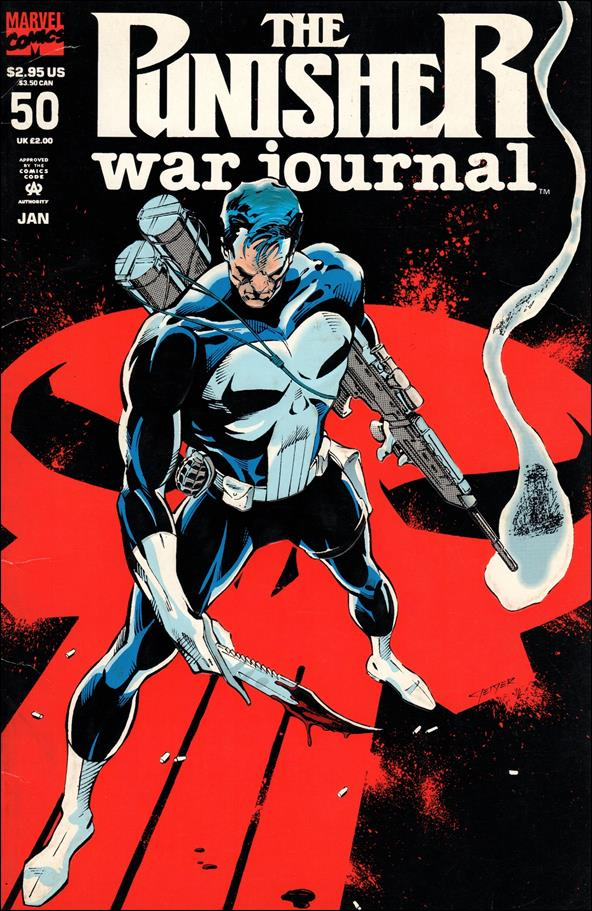 Punisher War Journal (1988) 50-A by Marvel