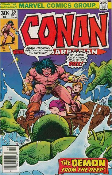 Conan the Barbarian (1970) 69-A by Marvel