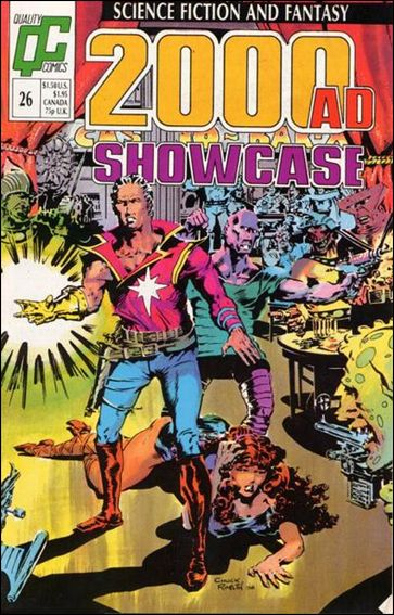 2000 A.D. Showcase (1988) 26-A by Quality Comics