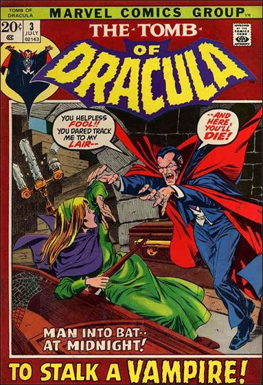 Tomb of Dracula (1972) 3-A by Marvel