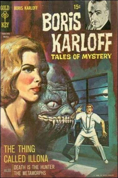 Boris Karloff Tales of Mystery 25-A by Gold Key