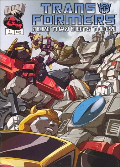 Transformers: More Than Meets the Eye (2003) 1-A by Dreamwave