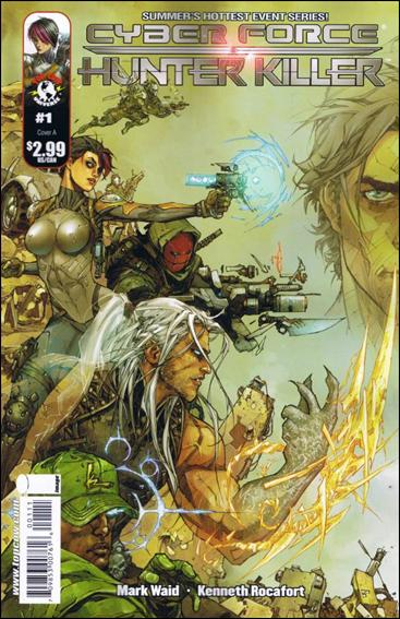 Cyberforce/Hunter-Killer 1-A by Top Cow