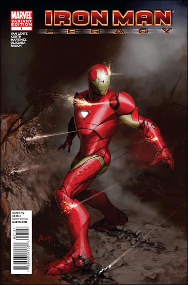 Iron Man Legacy 1-D by Marvel