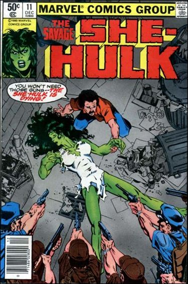 Savage She-Hulk 11-A by Marvel