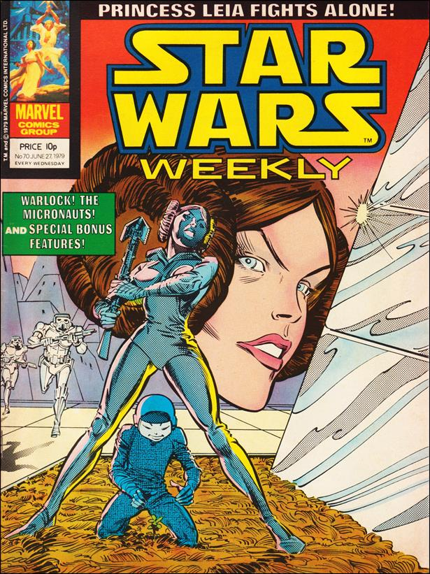 Star Wars Weekly (UK) 70-A by Marvel UK