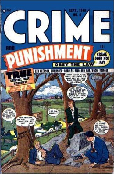 Crime and Punishment 6-A by Lev Gleason Productions