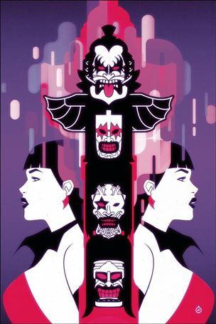 KISS / Vampirella 4-F