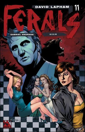 Ferals 11-A by Avatar Press