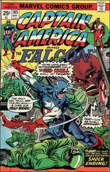 Captain America (1968) 185-A by Marvel