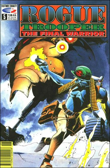 Rogue Trooper The Final Warrior 5-A by Fleetway Quality