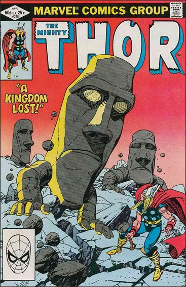 Thor (1966) 318-A by Marvel
