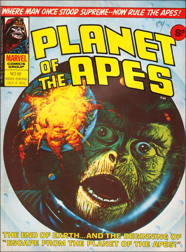 Planet of the Apes (UK) (1974) 50-A by Marvel UK