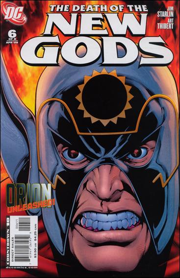 Death of the New Gods 6-A by DC