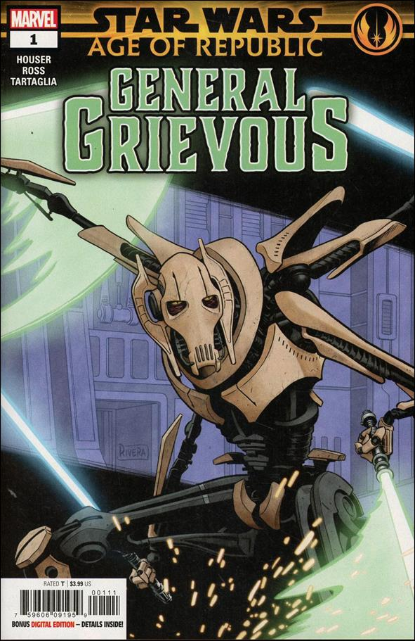 Star Wars: Age of Republic - General Grievous 1-A by Marvel