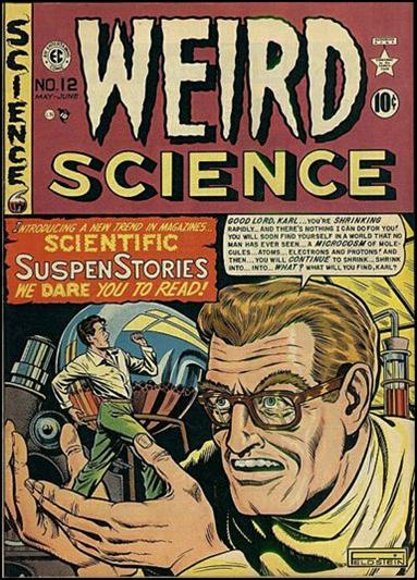 Weird Science (1950) 1-A by E.C.