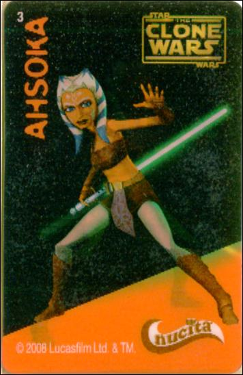 Star Wars The Clone Wars Nucita Motion Cards (Promo) 3-A by Lucasfilm Ltd.