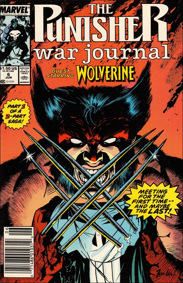 Punisher War Journal (1988) 6-A by Marvel
