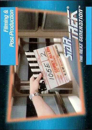 Star Trek: The Next Generation - Inaugural Edition (Base Set) 91-A by Impel